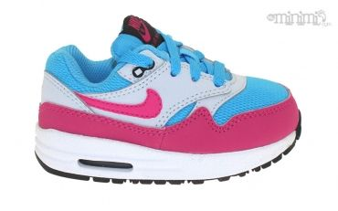 air max 1 gris bleu rose