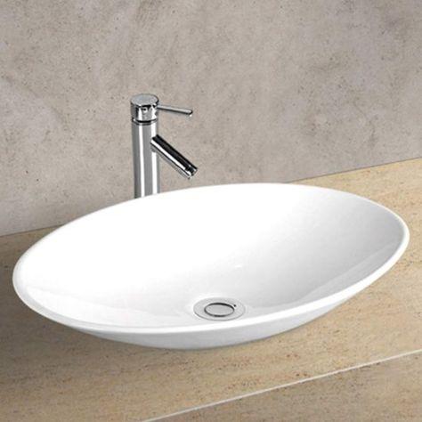 Sarina Above Counter Basin 500x355x100mm Builders Discount Warehouse Basin Bathroom Basin Nerang