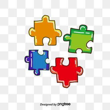 Color Puzzle Png And Vector Color Puzzle Cute Wallpaper Backgrounds Puzzle Pieces