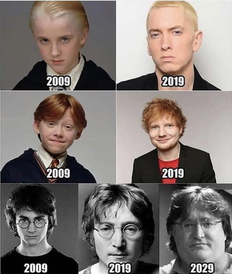 Harry Potter Cast From 2009 to Present with Harry