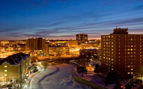 Skyline of Downtown Sioux Falls | Visit Sioux Falls | Sioux falls ...