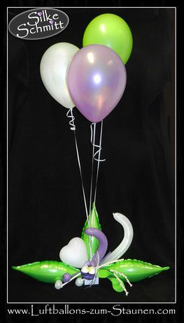Luftballon Ballon Tischdekoration Dekoration Geburtstag Hochzeit