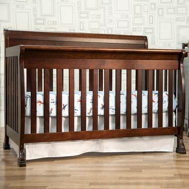 Davinci Kalani 4 In 1 Convertible Crib With Toddler Rail Espresso Cribs Convertible Crib Espresso Cribs