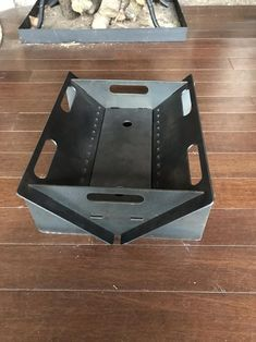 The Fireflower Fire Pit is the perfect flat pack, take