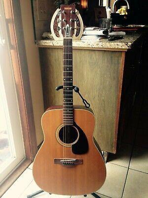 Vintage Yamaha Fg 180 Red Label Guitar W Case Yamaha Fg Red Label Guitar
