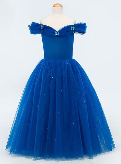 Cheap kids evening, Buy Quality girls pageant dresses directly from China kids evening gowns Suppliers: Royal Blue Sequined Tulle Flower Girl Dresses Sleeveless Off Shoulder Girls Pageant Dresses Kids Evening Gowns 2017 Serene Hill