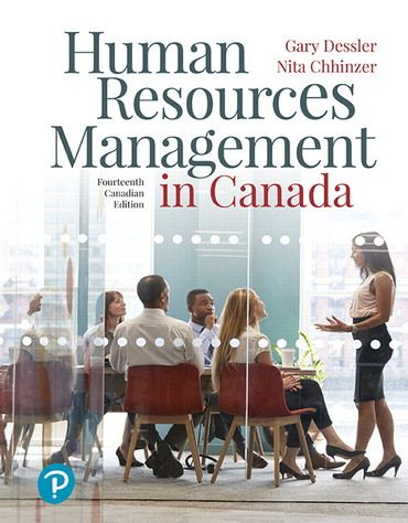 Pdf Ebook Human Resources Management In Canada 14th Canadian Edition By Gary Dessler Human Resource Management Human Resources Management