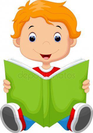 Nino Leyendo Un Libro Ninos Leyendo Dibujos Ninos Leyendo Ninos Leyendo Animados