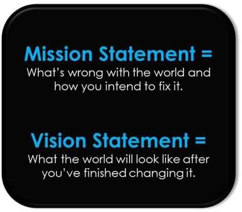 Cool resource about writing powerful Mission and Vision statements - fresh 7 sample mission statement for business
