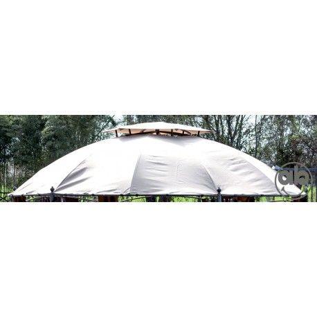 Top Copertura Di Ricambio Per Gazebo Esagonale Gotic Diametro 350