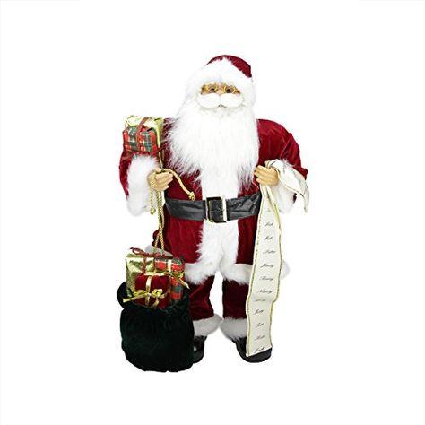 Northlight Santa Claus Figures Red In 2020 Santa Claus Figure Santa Figurines Santa Claus