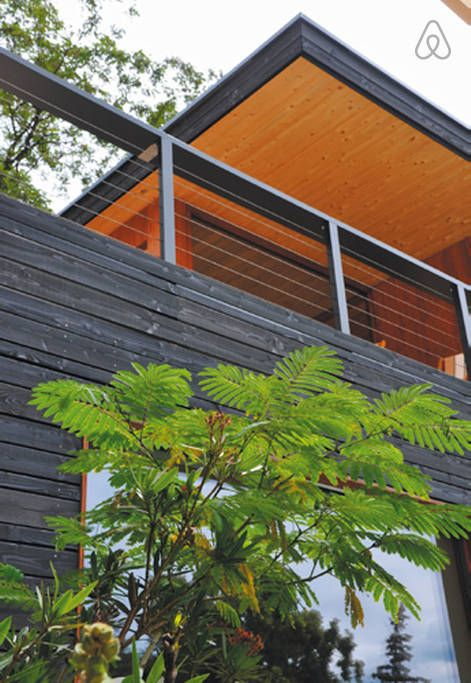 Fewo Im Designer Holzhaus In Caputh Casas Alugar Airbnb