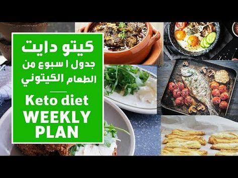 جدول اسبوعي لحمية الكيتو دايت وجبات فطور و غداء وصفات متنوعة وتتناسب مع In 2020 Keto Diet Food Keto