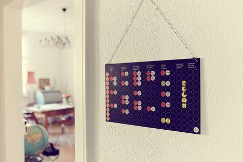 #doton #wochenplaner #Stundenplan #dots #Stickers #weeklyplanner : Weil Stundenpläne nicht immer Teddybärchen brauchen ... www.dot-on.de  #klebepunkte #doton #dots #wochenplaner #diy #madeingermany #design