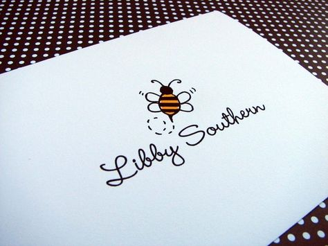 resembles my lil bee designs logo