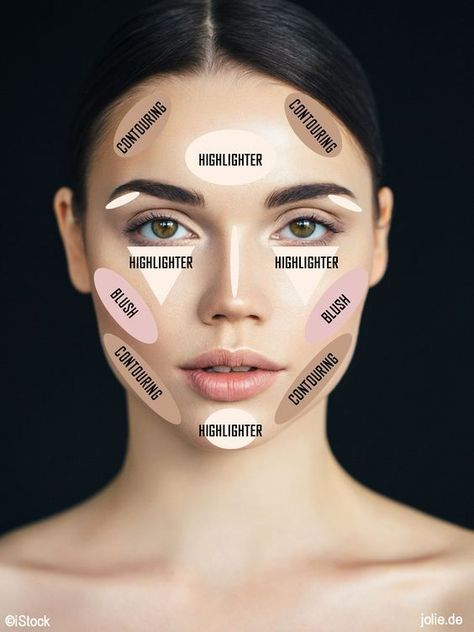 10 Infographics That Show You How to Contour Every Part of Your Body