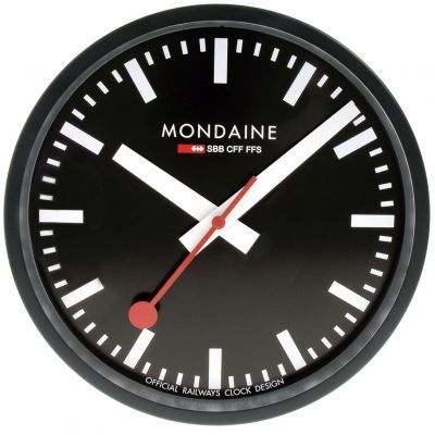 Mondaine Swiss Railways Wall Clock A990 Clock 64sbb Mondaine Wall Clock Swiss Railway Wall Clock Wall Clock