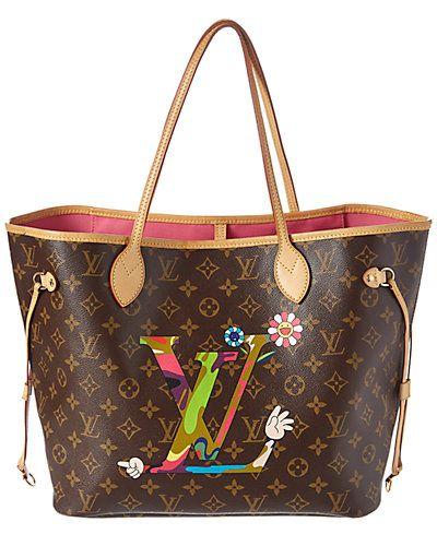 Louis Vuitton Limited Edition Takashi Murakami Hands Monogram Canvas Neverfull Mm Takashi Murakami Louis Vuitton Louis Vuitton Bag Louis Vuitton Bag Neverfull