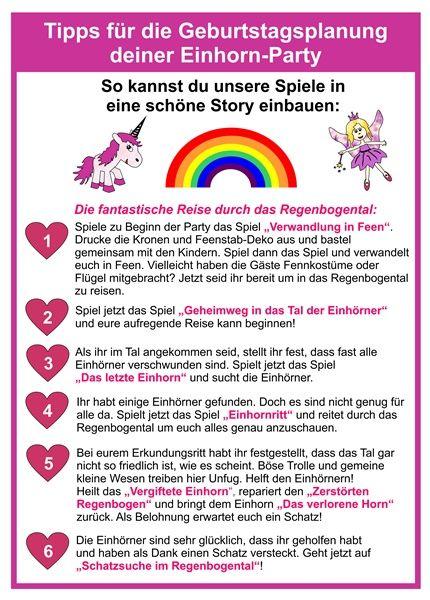 Spiel Set Einhorner Und Feen Ab 4 Jahre In 2020 Einhorn Party