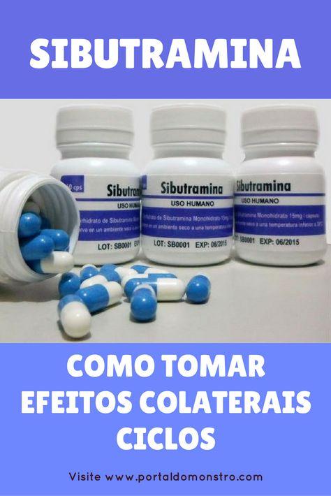 pastillas para bajar de peso sibutramina como tomarlo