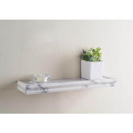 hot sales f3b03 f16a0 Marble Shelf - White B&M £2.99 W45 X D10 X H4cm | 2019 plan ...