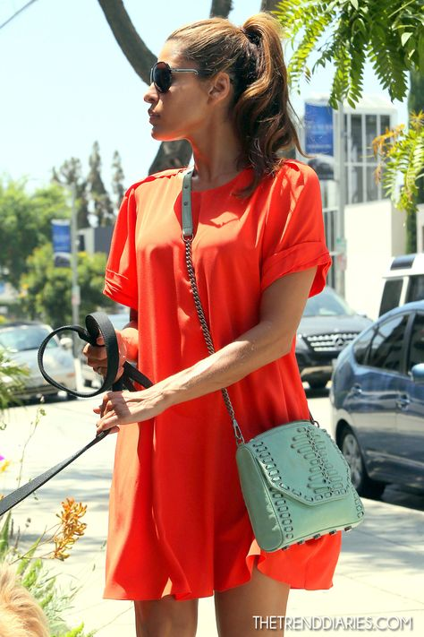 Eva Mendes out in Los Angeles, California - August 2, 2012