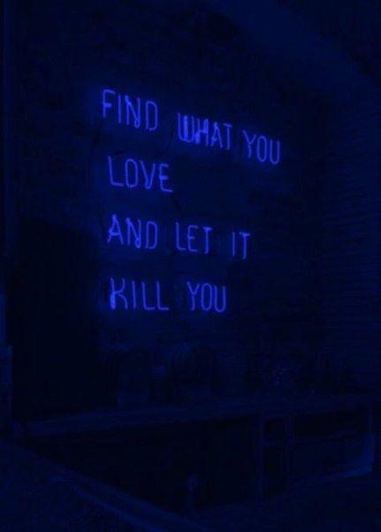 Dark Blue Aesthetic Wallpaper Quotes 39 Ideas Blue Aesthetic