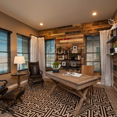 Wonderful Home Office Design Ideas, Pictures, Remodels And Decor   Rustic Luxe    Pinterest   Office Designs, Barn Wood Furniture And Barn Wood