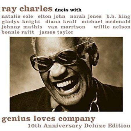 Ray Charles Genius Loves Company 10th Anniversary Vinyl Walmart Com Ray Charles Norah Jones Van Morrison