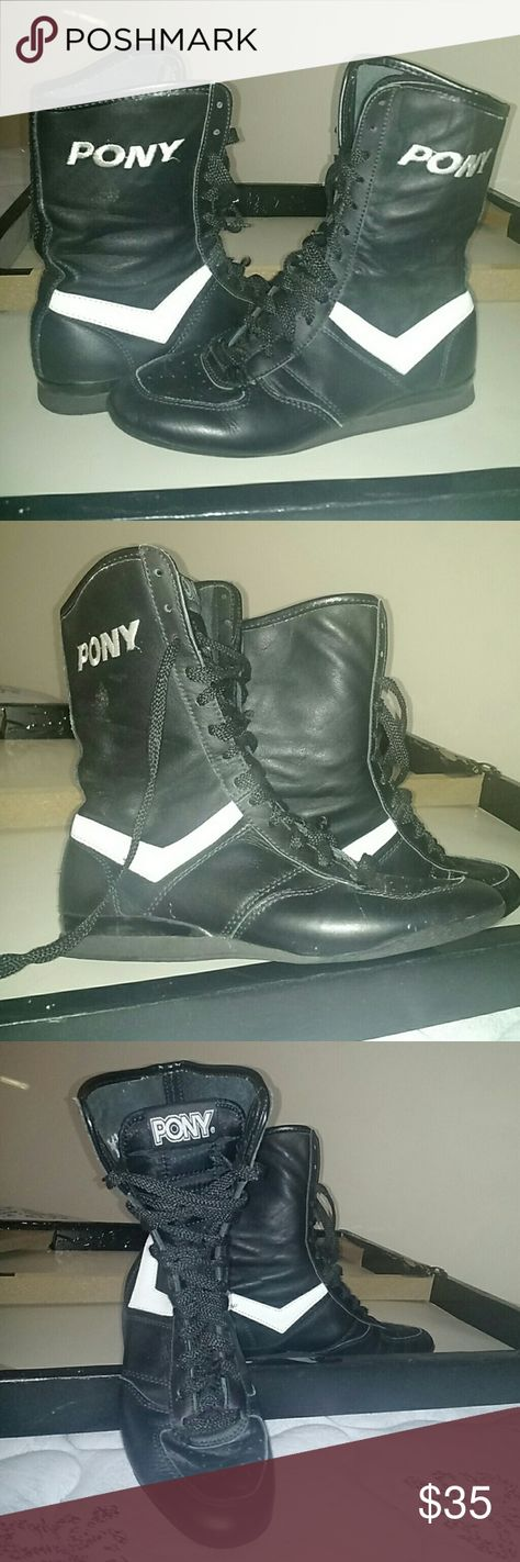 Pony Boxing shoes Leather   Boxing