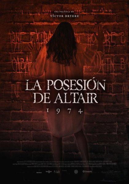 1974 La Posesion De Altair Peliculas De Terror Cine Peliculas De Miedo