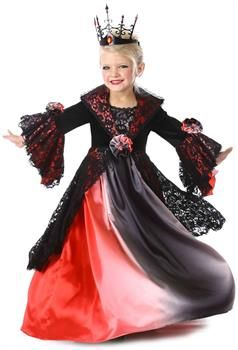 Details about  /California Costumes Bad Blood Vampire Dress Childrens Halloween Costume 3020-057