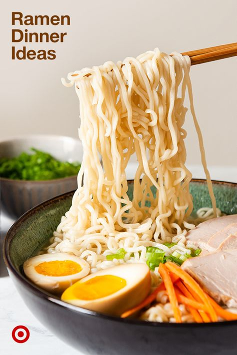 Find easy dinner ideas, ramen noodle recipes, soups  other cold-weather food to keep you warm through fall  winter.