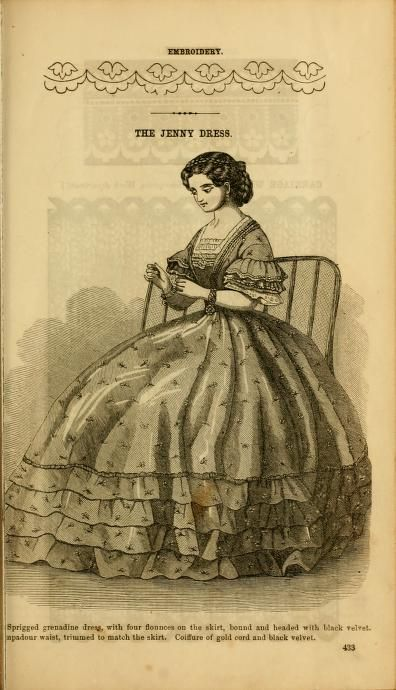 Short sleeves (comparatively) and not a ball gown.