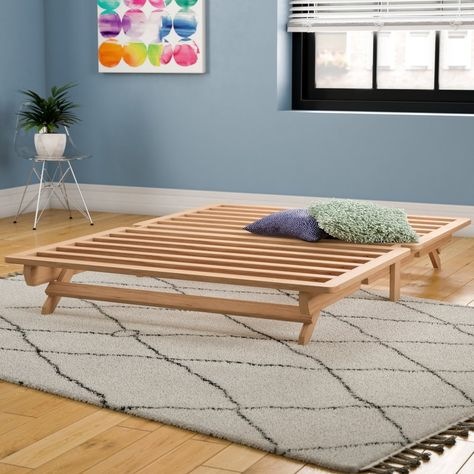 Evie Platform Bed With Images Wood Platform Bed Bed Frame Upholstered Platform Bed