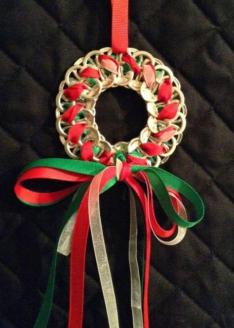 Soda Tab Wreath- so cute!