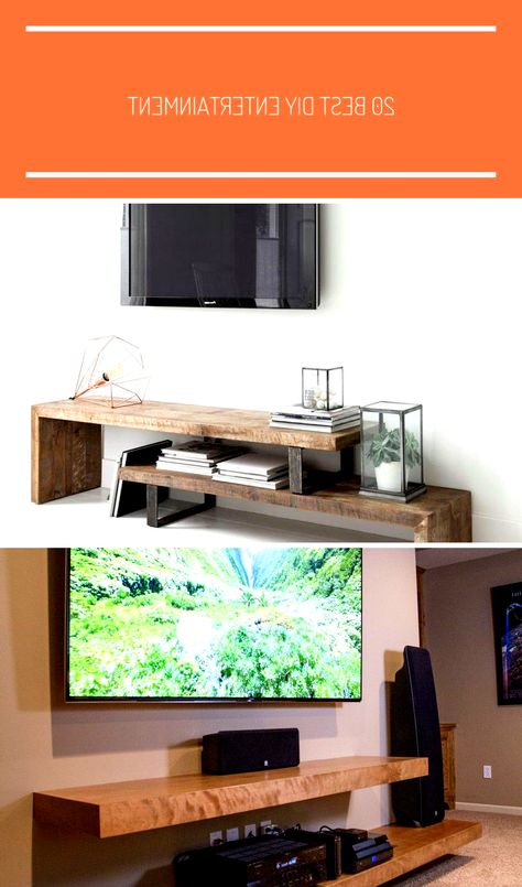 20 Best DIY Entertainment Center Design Ideas For Living Room - TV Stands - Ideas of TV Stands #TVStands - More ideas below: #HomeDecorIdeas #DiyHomeDecor DIY Pallet Entertainment center Ideas Built In Entertainment center Plans Floating Entertainment center Decor Rustic Entertainment center with Barn Door Repurpose Farmhouse Entertainment center Modern Entertainment center With Fireplace Industrial Entertainment center with Living Room # entertainment center ideas apartment tv stands