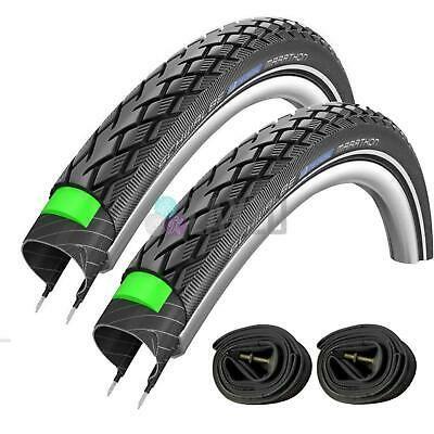 Sponsored Ebay 2 X Schwalbe Marathon 16 X 1 35 Bike Cycle Tyres