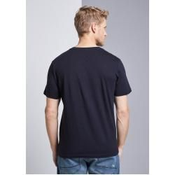 Men's short-sleeved polo shirts -  Tom Tailor men's t-shirt with logo print, blue, plain-colored with print, size XL Tom TailorTo - #blondehairstyles #darkhairstyles #hairstylecurly #hairstyleforschool #Men39s #polo #shirts #shortsleeved