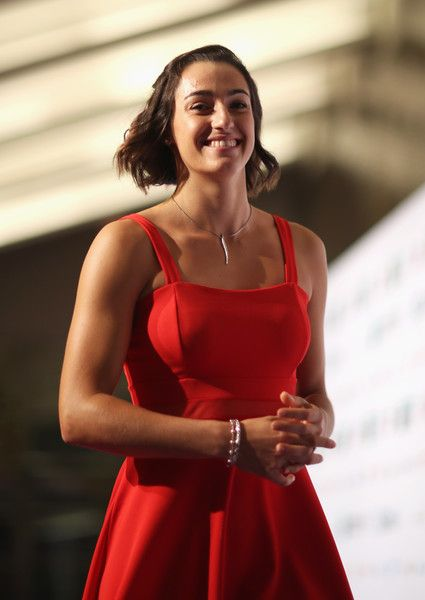 Caroline Garcia Photos Photos Bnp Paribas Wta Finals Singapore Presented By Sc Global Previews Tennis Players Female Tennis Players Caroline