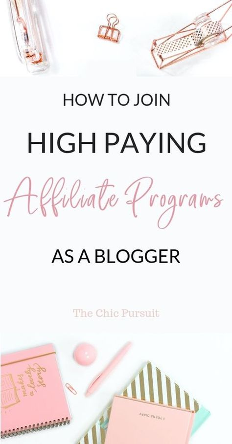 The Best High Paying Affiliate Programs For Fashion Bloggers