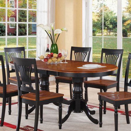 Free Shipping Buy August Grove Pilcher Extendable Dining Table At Walmart Com Oval Table Dining Black Dining Room Dining Table With Bench