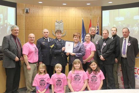 Fantastic to see, Fort St. John's City Council proclaims Wednesday, February 29 as Pink Shirt Anti-Bullying Day in Fort St. John - Don't forget to wear your pink tomorrow...