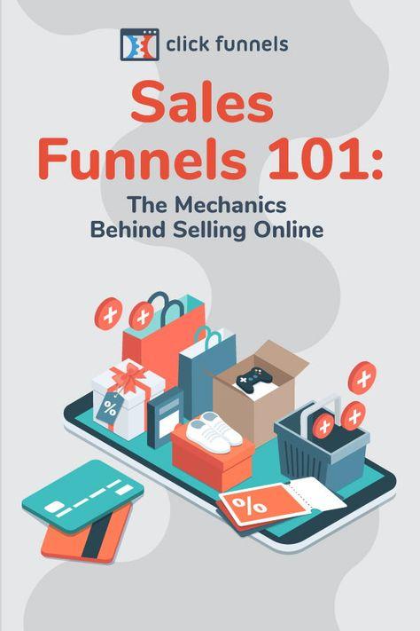 Sales Funnels The Mechanics Behind Selling Online Sales funnels are also quite possibly one of the most important concepts in business. They help you sell on autopilot. Marketing Tools, Marketing Digital, Business Marketing, Internet Marketing, Online Marketing, Social Media Marketing, Marketing Program, Business Planning, Business Tips