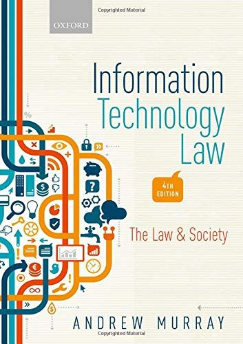 Free Download Pdf Information Technology Law The Law And Society Free Epub Mobi Ebooks Technology Law Information Technology Technology
