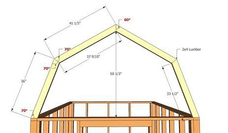 Image Result For Building A Gambrel Roof Framing Barns Sheds