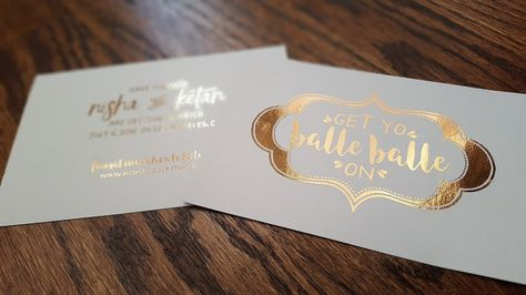 Indian Save The Date Get Yo Balle On Party Invitation Wedding Website Stuff And Bridal Showers