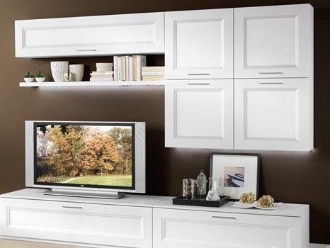 Modus, parete attrezzata sui toni del grigio. Buono Soggiorno Mondo Convenienza Pamela Idee Per La Casa Pinterest Apartment Decor Attic Bedrooms Home Decor