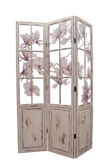 Paravent Magnolie Raumteiler Spanische Wand Und Magnolien