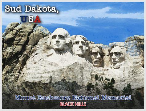 Il monte Rushmore è una delle mete più amate dai turisti che visitano gli Stati Uniti. Sapevate che i quattro presidenti americani scolpiti nella roccia - Washington, Jefferson, Roosevelt e Lincoln - rappresentano rispettiavamente la nascita, la crescita, lo sviluppo e la conservazione degli Stati Uniti? E che qui davanti i protagonisti della commedia Mai Stati Uniti hanno interpretato una delle loro gag? #cartolina #usa #maistatiuniti